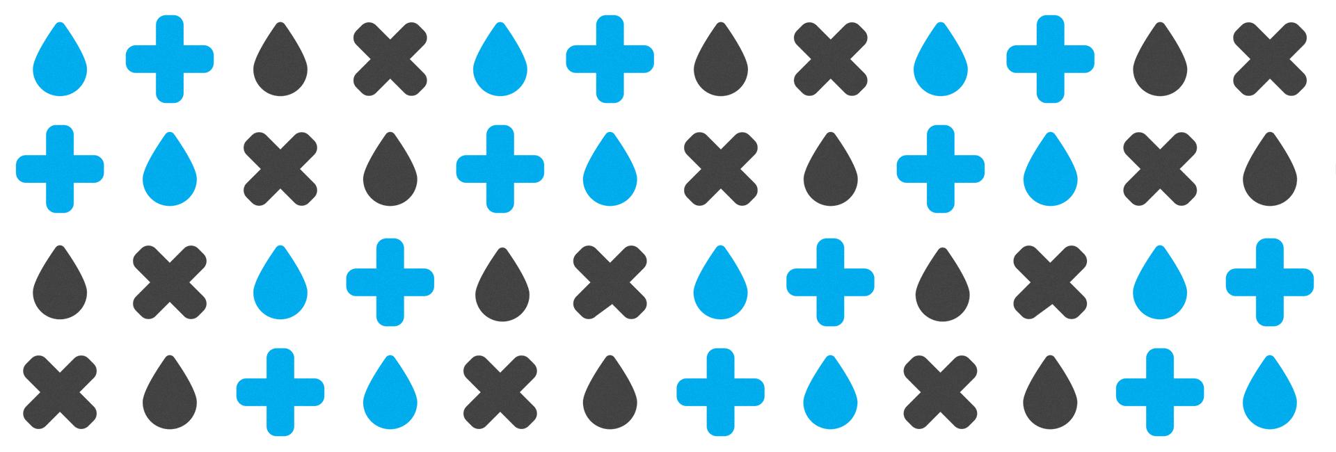 Grafisk mønster fra Heiane Tømmestasjon.