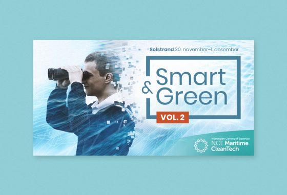 Banner fra årskonferansen Smart & Green