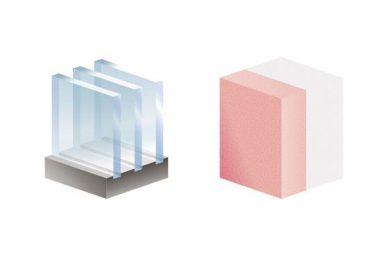 Illustrasjoner fra Meieripkvarteret-rospektet. Materialvalg